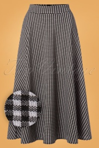 Vixen Arianna Houndstooth Long Skirt 122 14 25021 20180829 0004W1