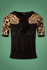 Vixen Natalia Leopard Top 113 10 25053 20180828 0002W