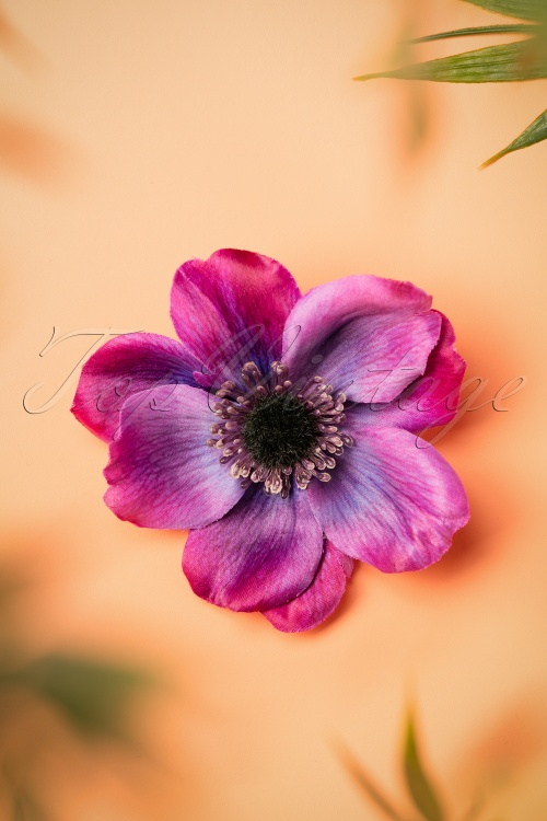 Lady Lucks Boutique Purple Hairflower 200 60 26617 08302018 002W