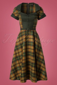 Vixen Ella Tartan Swing Dress 102 49 25007 20180830 0006W