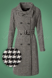 Vixen Margaret Houndstooth Bow Coat 142 14 26074 20180828 0003W1