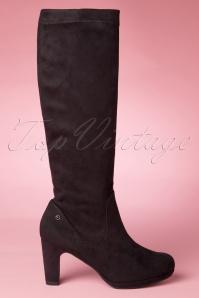 Tamaris Black High Boots 440 10 12408 20140906 new edition 0007W