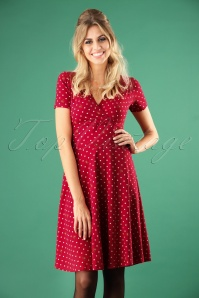 Blutsgeschwister Polka Lady Red Dress 102 29 26044 20180731 1W