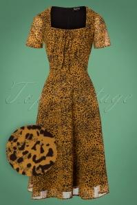 Vixen Mustard Leopard Dress 24996 20180831 0004W1