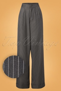 Vixen Grey Striped Pants 131 19 25043 20180905 0005W1
