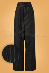 Vixen Black Striped Pants 131 19 25044 20180905 0005W1
