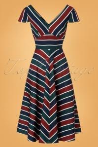 Vixen Addison Striped Dress 25008 20180831 0004W