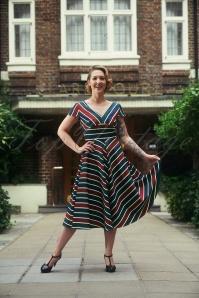 Vixen Addison Striped Dress 25008 20180831 01W