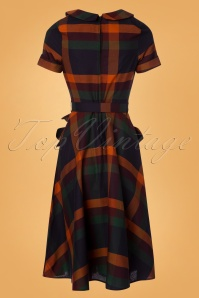 Vixen Samantha Tartan Dress 25018 20180831 0009W