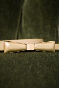 Tatyana 60s Bow Belt in Gold 212 91 27617 09052018 007
