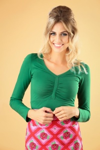Tante Betsy Romy Shirt in Green 113 80 25439 20180727 2