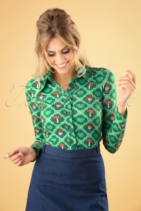 Tante Betsy Green Gnome Blouse 112 49 25431 20180727 0002W