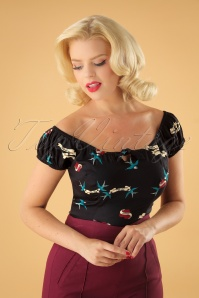Collectif Clothing Lorena True Love Top 110 14 24861 20180629 1W