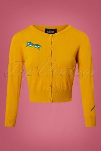 Collectif Clothing 50s Jessie Geek Cardigan 140 80 24796 20180626 0002W