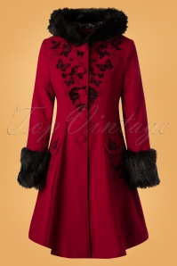 Bunny Anderson Coat in Red 25900 20180907 0003W