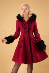Bunny Anderson Coat in Red 25900 20180907 001W