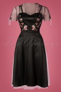 Vixen Zoe Black Floral Dress 102 10 25012 20180907 0002W