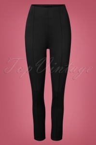50s Bonnie Trousers in Black
