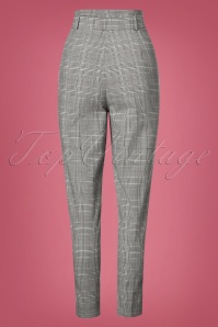 Collectif Clothing Thea Check Trousers 131 14 24879 20180627 0020W