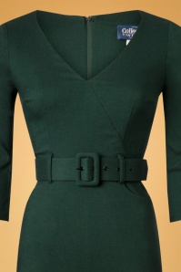 Collectif Clothing 40s Jessi Jumpsuit in Green 24804 20180629 0005V