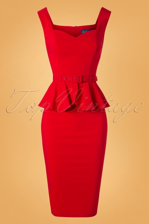 Collectif Clothing Mae Pencil Dress 100 20 27508 20180911 0003W