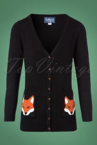 Collectif Clothing Sydney Foxy Cardigan 140 10 27493 20180911 0001W