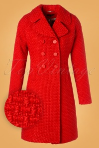 King Louie Lorelai Coat in Red 152 20 25292 20180911 0004W1