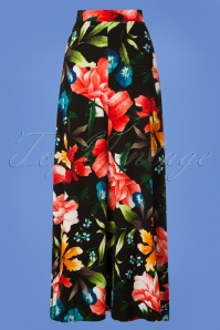 Collectif Clothing Long Floral Skirt 129 14 27484 20180911 0006W