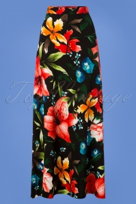 Collectif Clothing Long Floral Skirt 129 14 27484 20180911 0002W