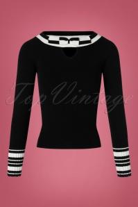50s Elodie Jumper in Black