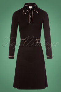 Mademoiselle Yeye 60s Black Dress 25517 20180831 0004W