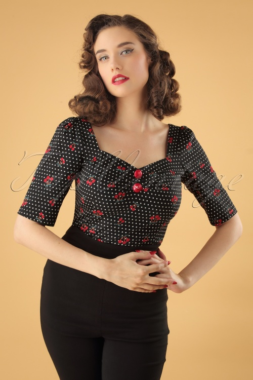 e61b113babdd Collectif Clothing Dolores Cherry Top 110 14 24858 20180626 0009W