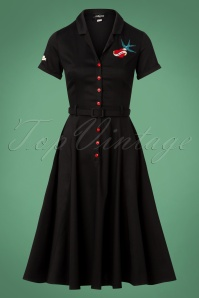 Collectif Clothing Catherina True Love Swing Dress 24815 20180628 0004W