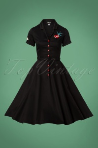 Collectif Clothing Catherina True Love Swing Dress 24815 20180628 0003