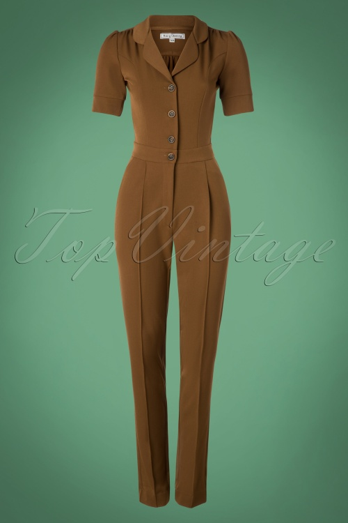 Very Cherry Brown Jumpsuit 133 70 25666 20180913 0002W