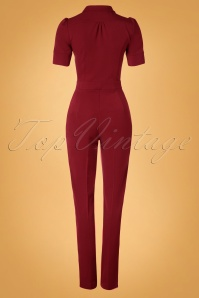 Very Cherry DeepRed Jumpsuit 133 20 25667 20180913 0006W