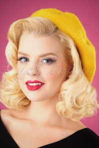 Darling Divine Yellow Baret 202 80 26900 09062018 001W