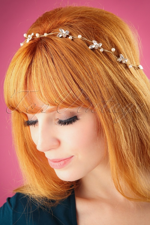 Lovely Simple Crystal Hair Jewelry 208 91 26484 09062018 001W