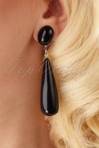 Darling Divine Black Earrings 333 10 26895 09062018 002W