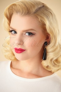 Darling Divine Black Earrings 333 10 26895 09062018 001W