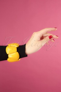 60s Amy Bracelet in Yellow