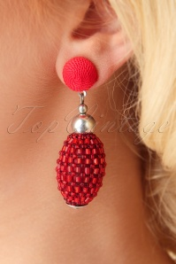 Darling Divine Red Earrings 333 20 26899 09062018 002W