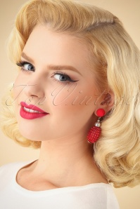 Darling Divine Red Earrings 333 20 26899 09062018 001W