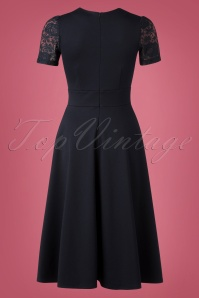 Very Cherry Lace Blue Dress 102 31 25660 20180918 0006W