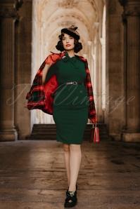 Vintage Chic Brianna Midi Dress with Bow 26402 20161031 0013W