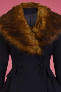 Bunny Roxy Coat in Navy Blue 152 31 25894 1V