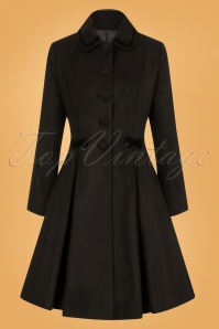 Bunny Olivia Coat in Black 25898 1W