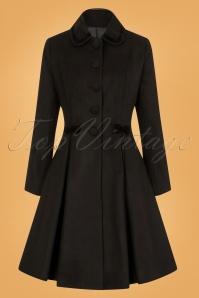 Bunny Olivia Coat in Black 25898 1W