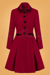 Bunny Olivia Coat in Red 25899 1W