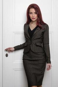 Vive Maria 60s Dandy In Love Blazer in Black